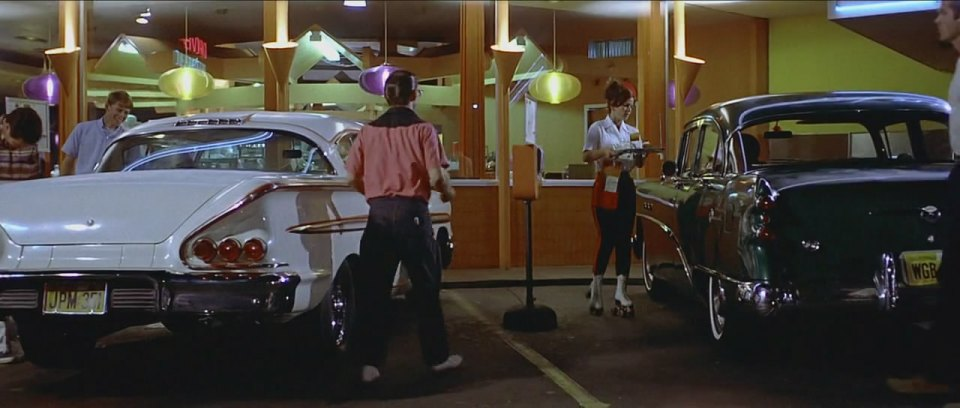 american graffiti carhop waitress