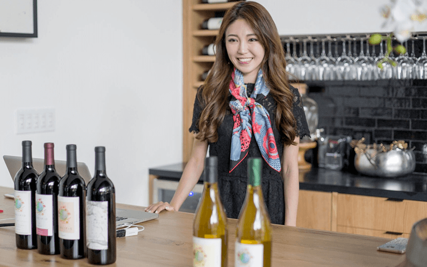Great Wine CEO Danni Lin
