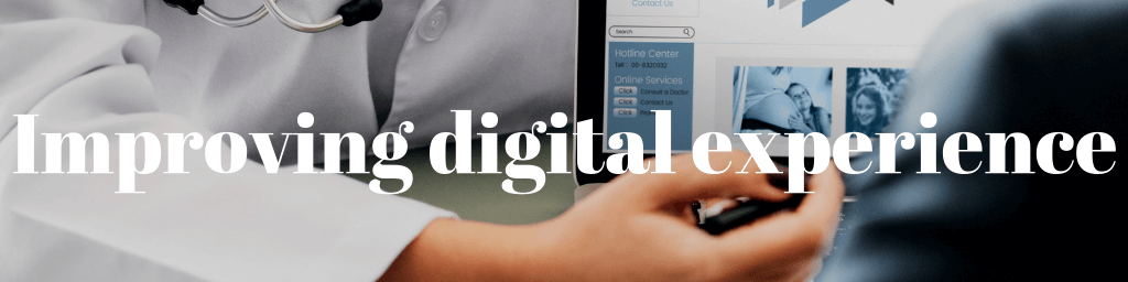 digital experience in healthcare