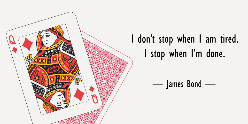 james bond quote