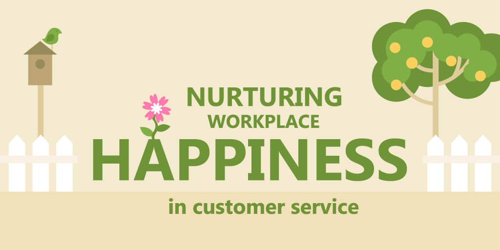 employee happiness in customer service
