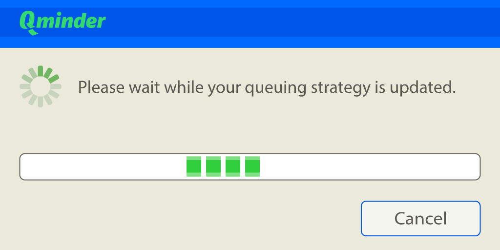 update queuing strategy