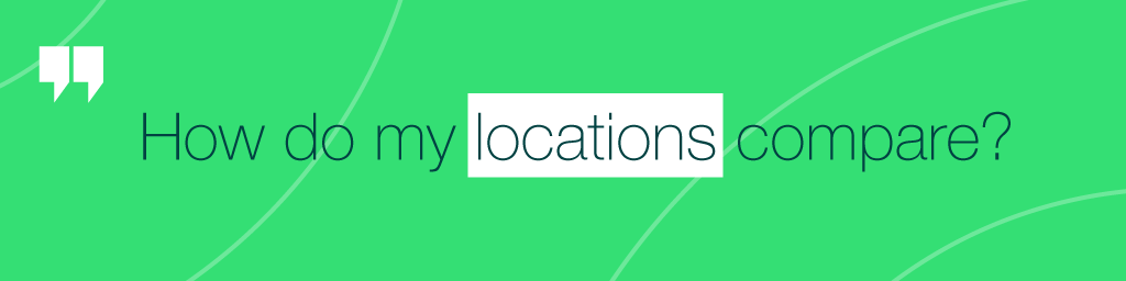 compare business location performance