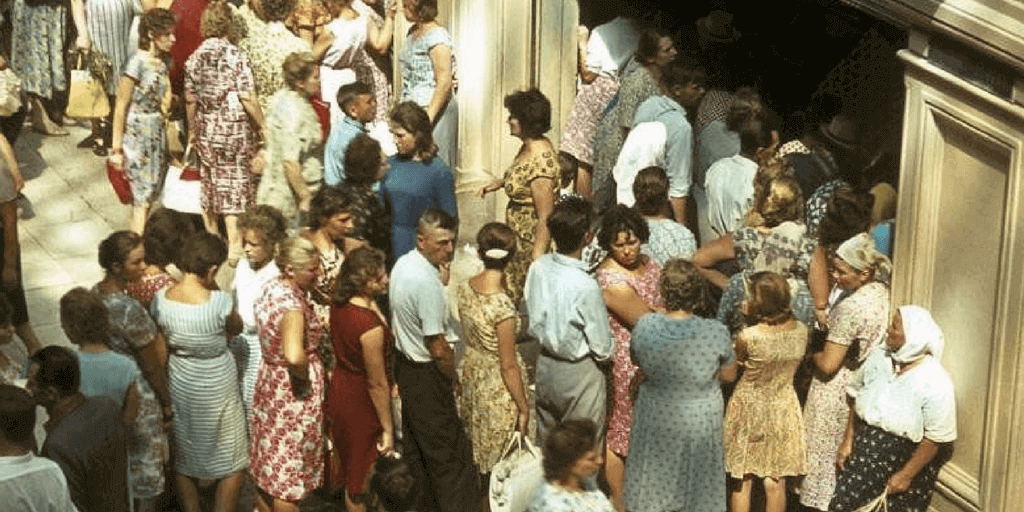 history of ussr breadlines