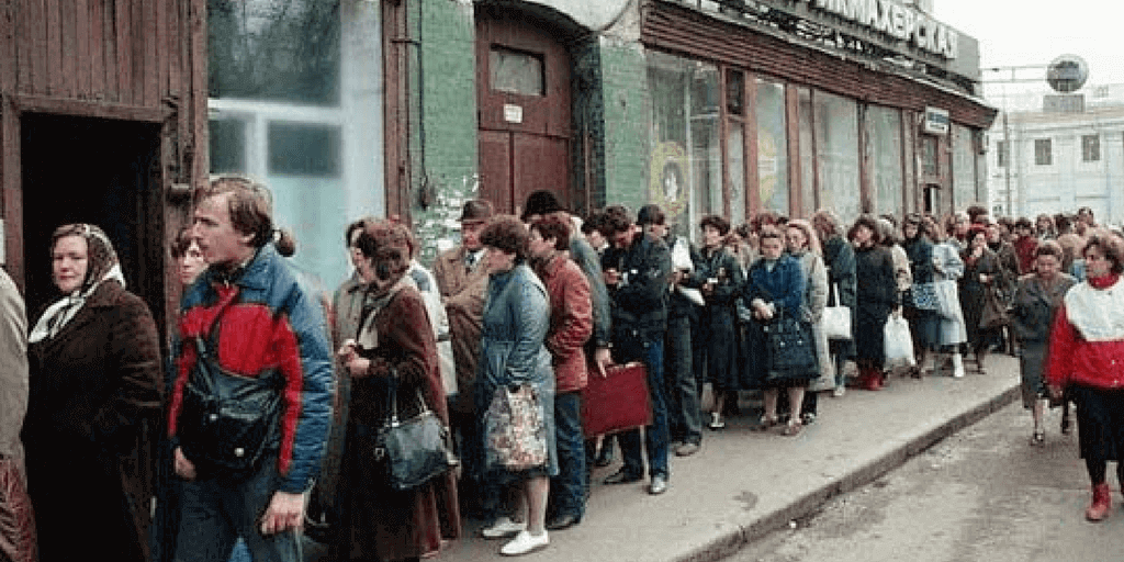 customer service in ussr
