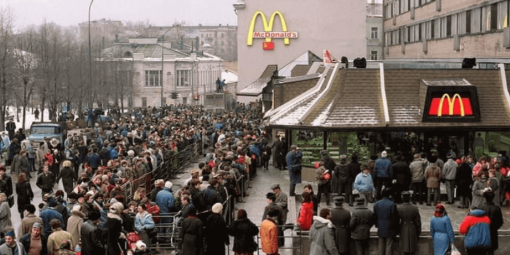 first mcdonalds in ussr