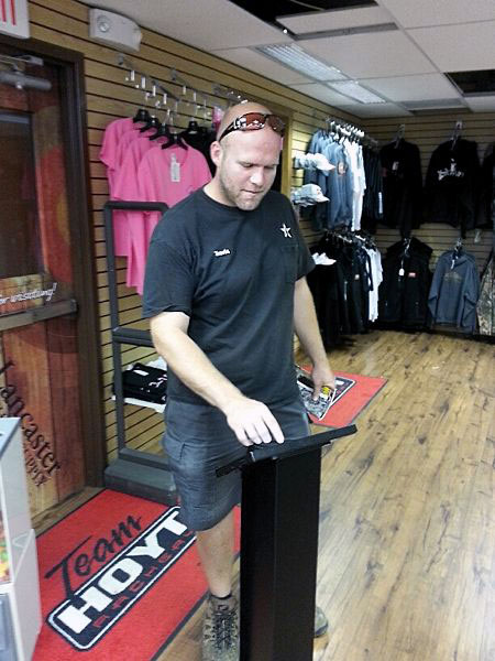 Qminder managing queues at Lancaster Archery Supply, USA